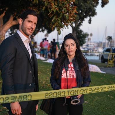 Lucifer Season 5 Aimee Garcia Ella