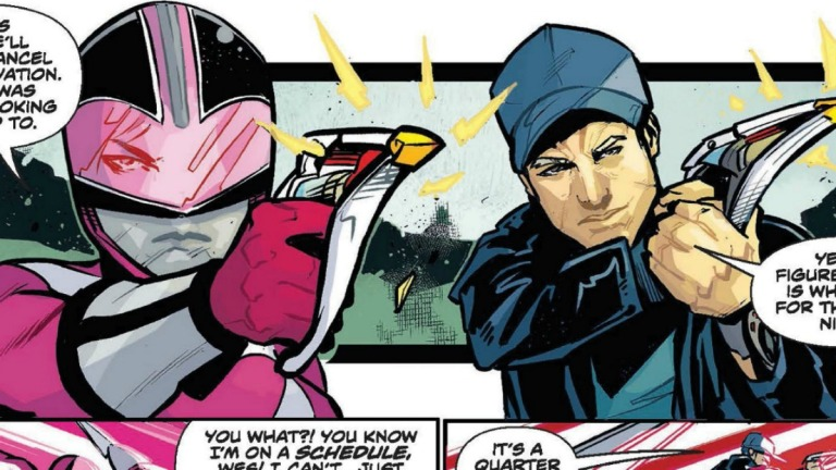 Power Rangers Sins of the Future Preview
