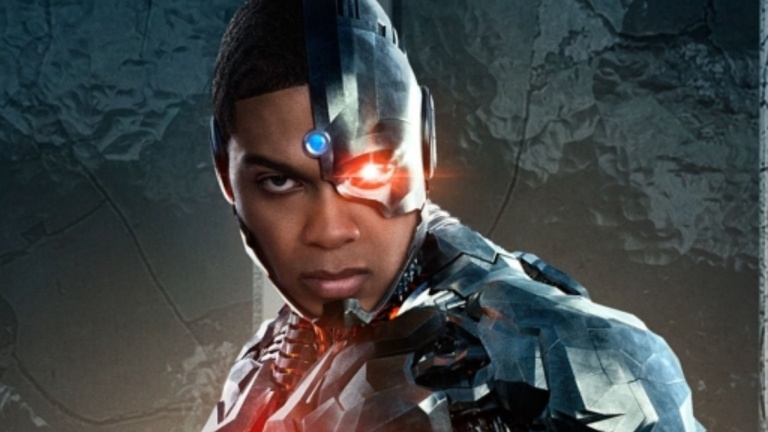 Ray Fisher as Cyborg Unhappy with Geoff Johns