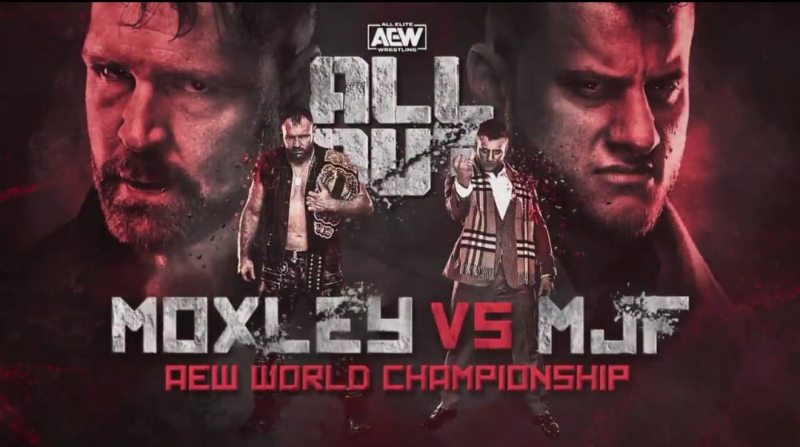 Jon Moxley defends the AEW World Championship against MJF at AEW All Out 2020
