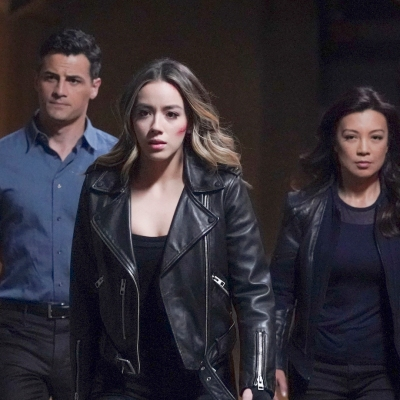 Sousa, Daisy, and May in Agents of SHIELD