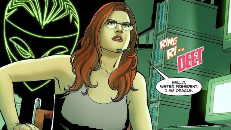 Barbara Gordon as Oracle in DC Comics