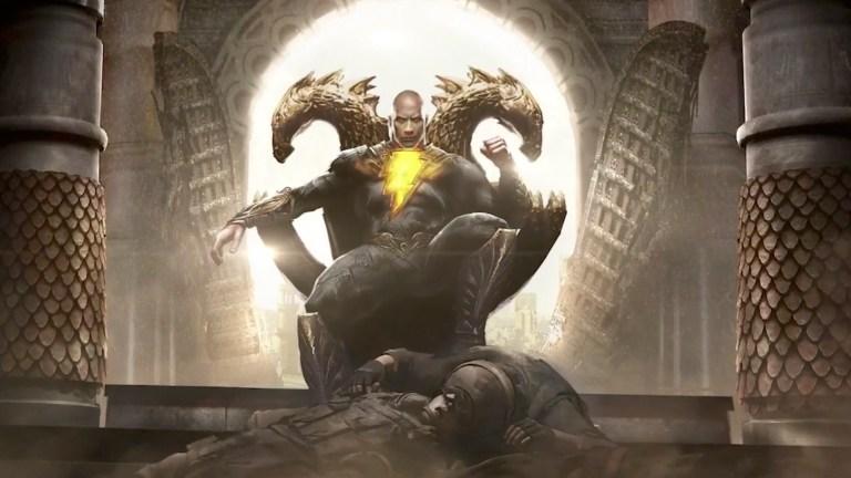 Dwayne Johnson as DC's Black Adam (Concept Art)