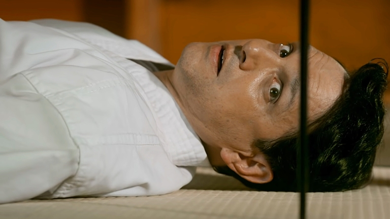 Ralph Macchio as Daniel on Cobra Kai Season 3