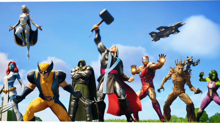 Fortnite Marvel Nexus War