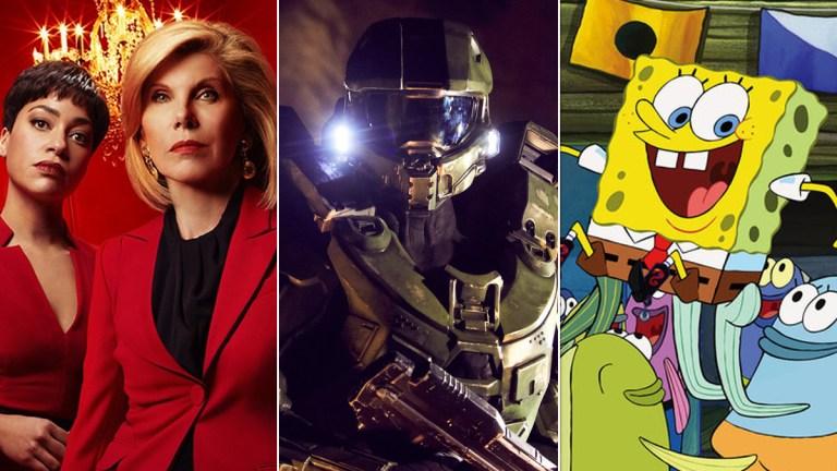 The Good Fight, Halo, SpongeBob SquarePants