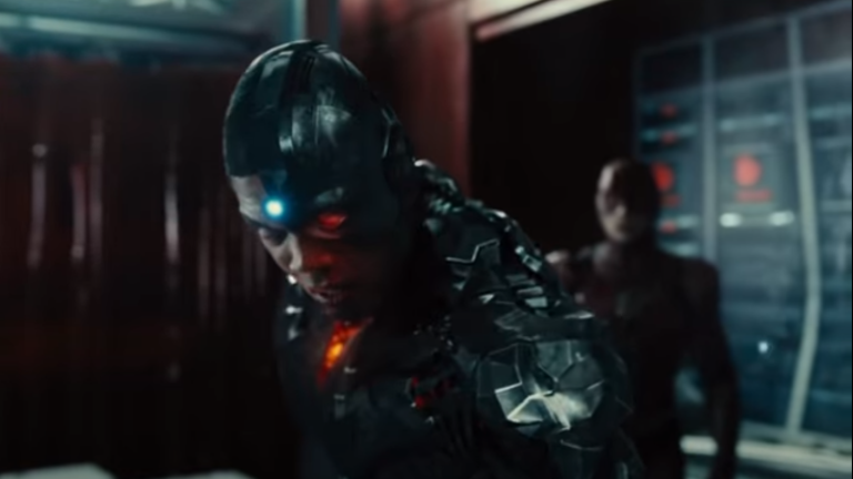Ray Fisher as Cyborg in Justice League: The Snyder Cut