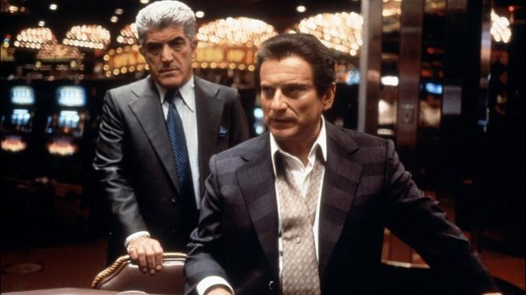 Joe Pesci and Frank Vincent in Martin Scorsese's Casino