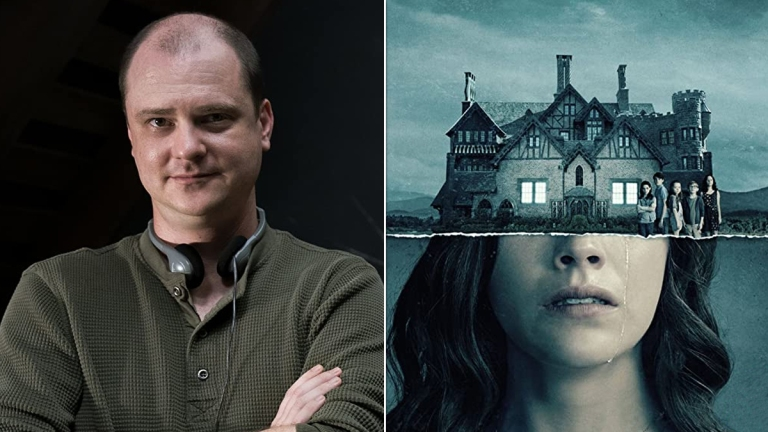 Mike Flanagan from Doctor Sleep; The Haunting of Hill House poster