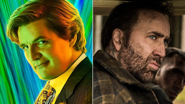 Pedro Pascal in Wonder Woman: 1984; Nicolas Cage in Mandy