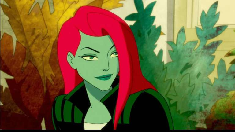 poison ivy in the harley quinn animated series