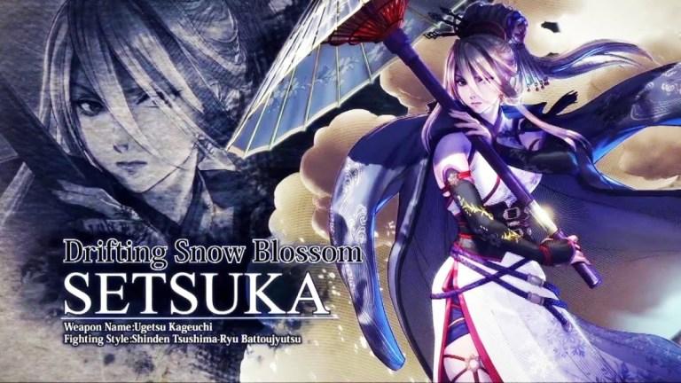 Setsuka in SoulCalibur VI