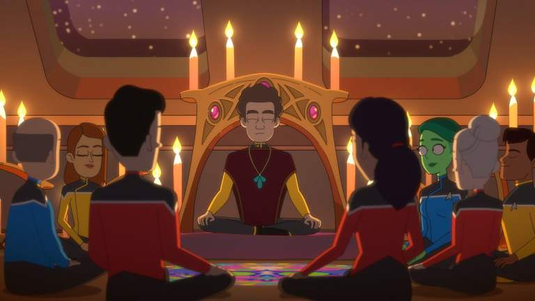 Haley Joel Osment's Character in Star Trek: Lower Decks Episode 4