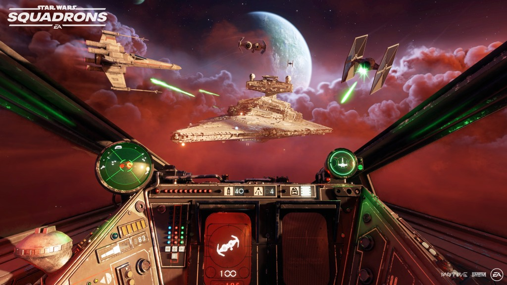 Star Wars: Squadrons Mission Gameplay Footage Revealed at ...