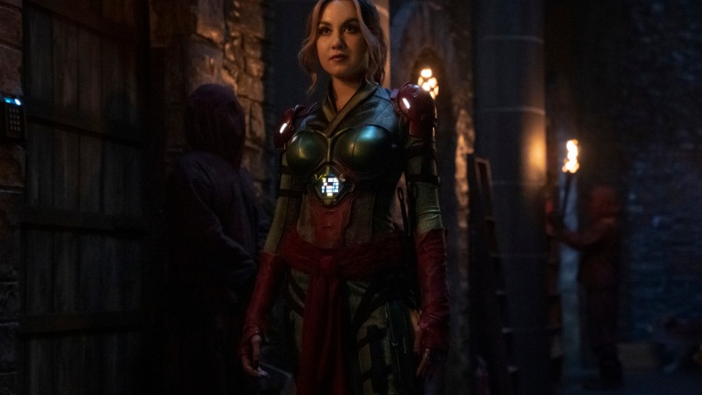 Meg Delacy as Cindy Burman on DC's Stargirl