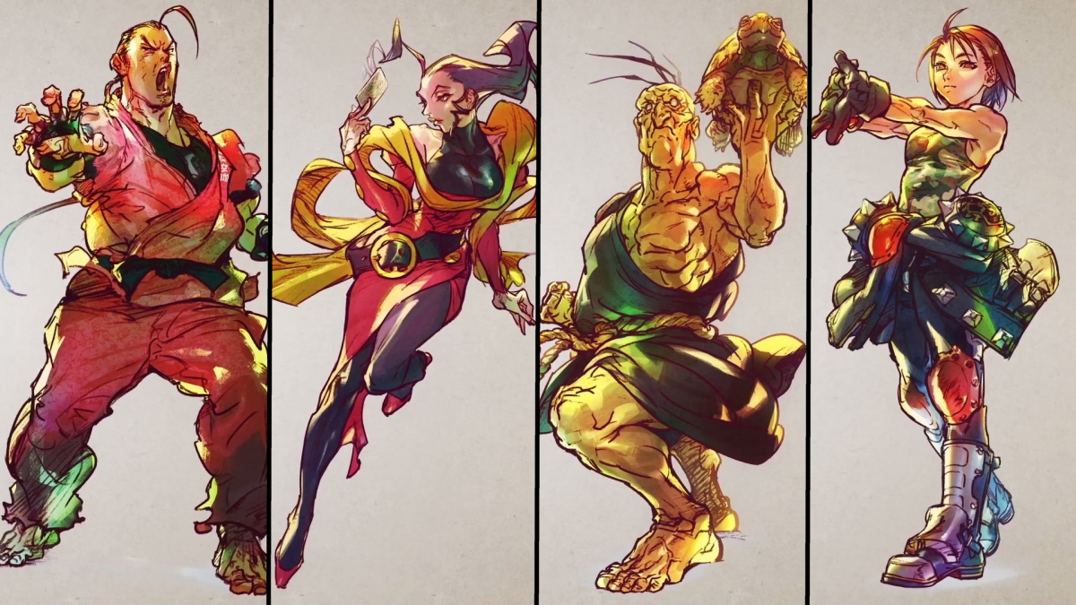 Street Fighter 5 Season 5 Characters Revealed Including Dan