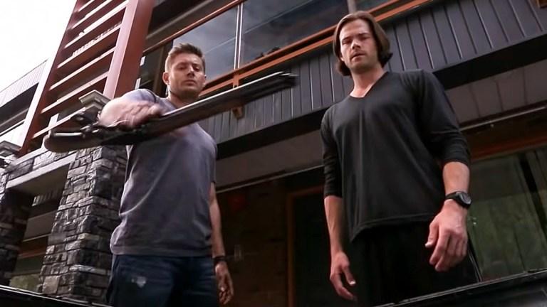 Jensen Ackles and Jared Padalecki in Supernatural Season 15's final episodes
