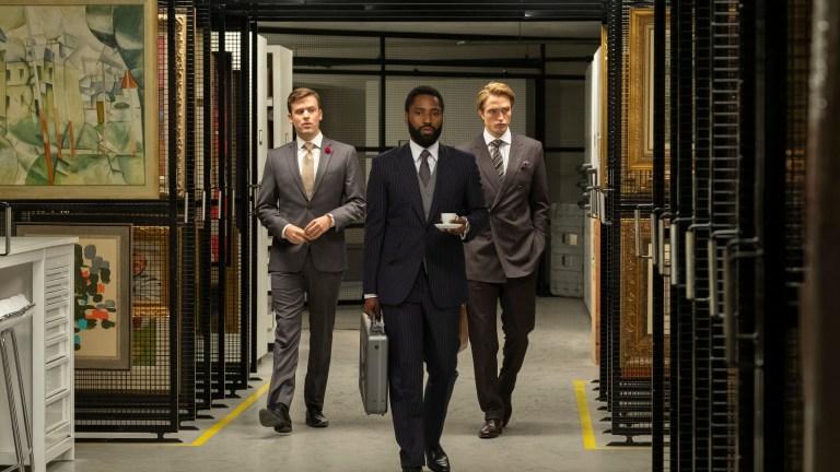 John David Washington and Robert Pattinson in Tenet