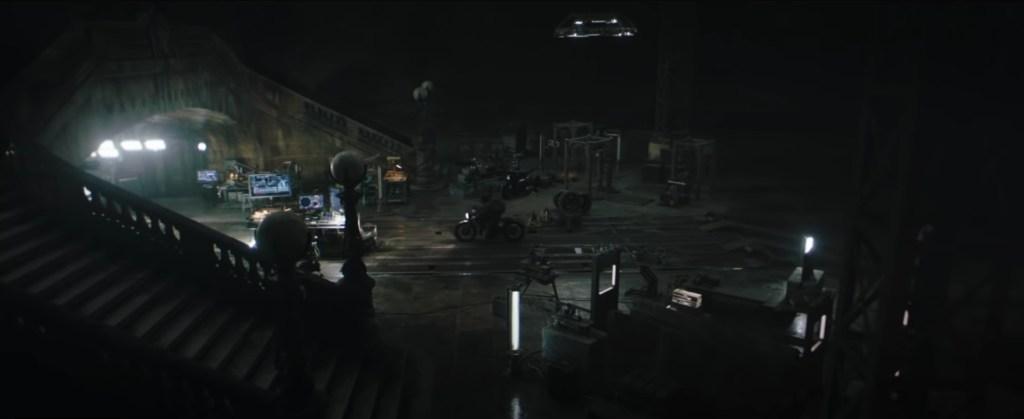 The Batman Trailer Batcave