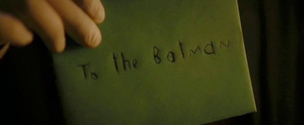 The Batman Trailer Riddle