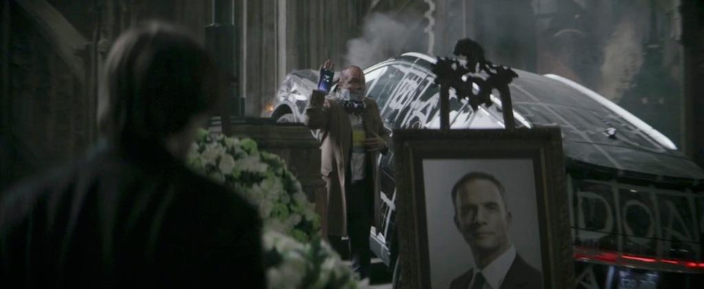 The Batman Trailer Funeral