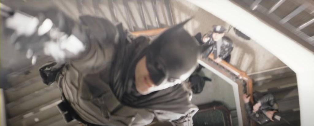 The Batman Trailer GCPD Fight