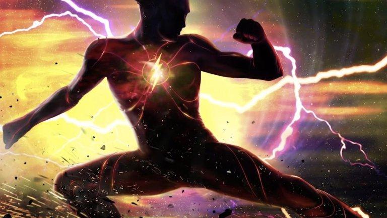 The Flash movie costume concept art