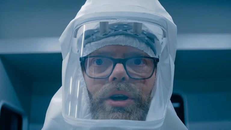 Rainn Wilson as Michael Stearns on Utopia