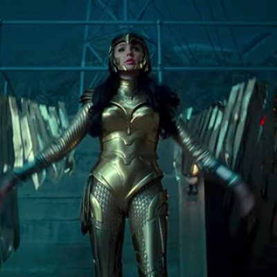 Diana in Golden Eagle Armor in Wonder Woman 1984