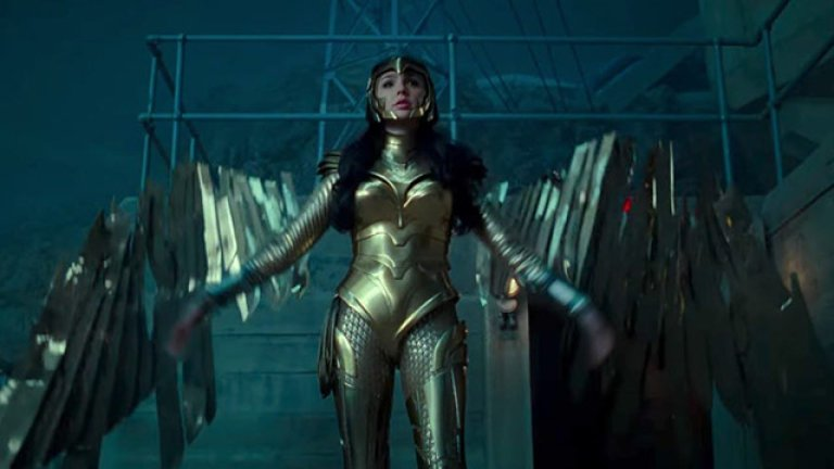 Diana in Golden Eagle Armor in Wonder Woman 1984