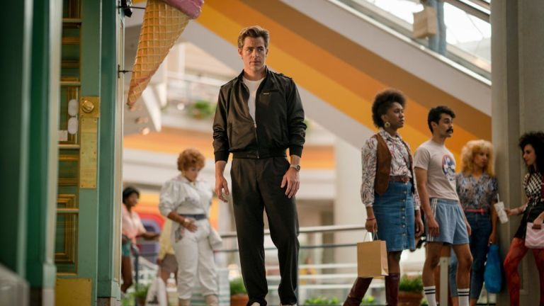 Chris Pine as Steve Trevor in Wonder Woman 1984