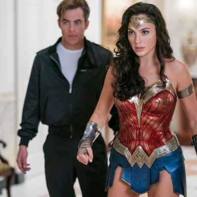 Steve and Diana in Wonder Woman 1984