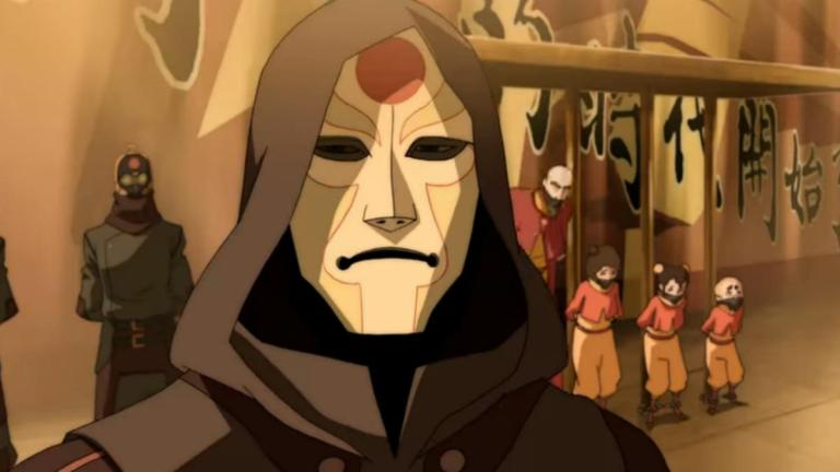 Amon in The Legend of Korra