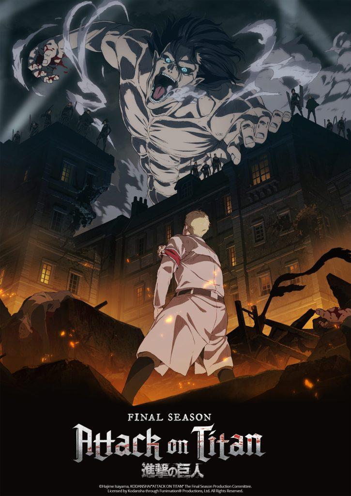 Attack on Titan a.k.a Shingeki no Kyojin Season 4 (2021) [Sub+Dub] | x265 10bit HEVC WEBRip | 1080p | 720p