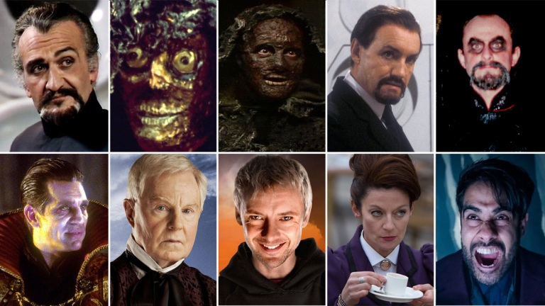 Doctor Who The Masters composite