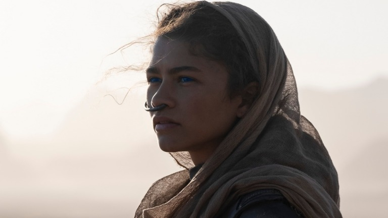Zendaya as Chani in Dune