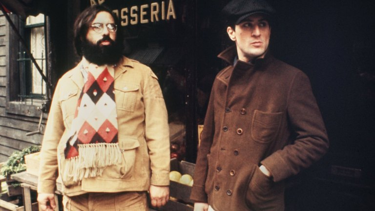 Francis Ford Coppola and Robert De Niro on The Godfather Part II Set