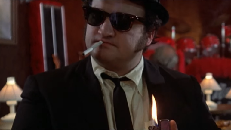 John Belushi in The Blue's Brothers