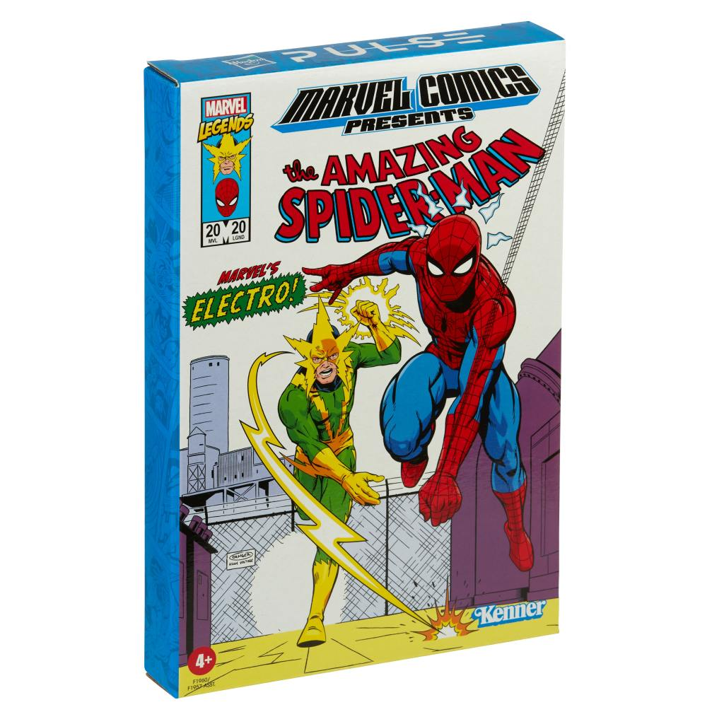Marvel Legends Spider-Man and Electro