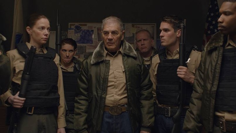 Robert Forster and Cast of The Wolf of Snow Hall
