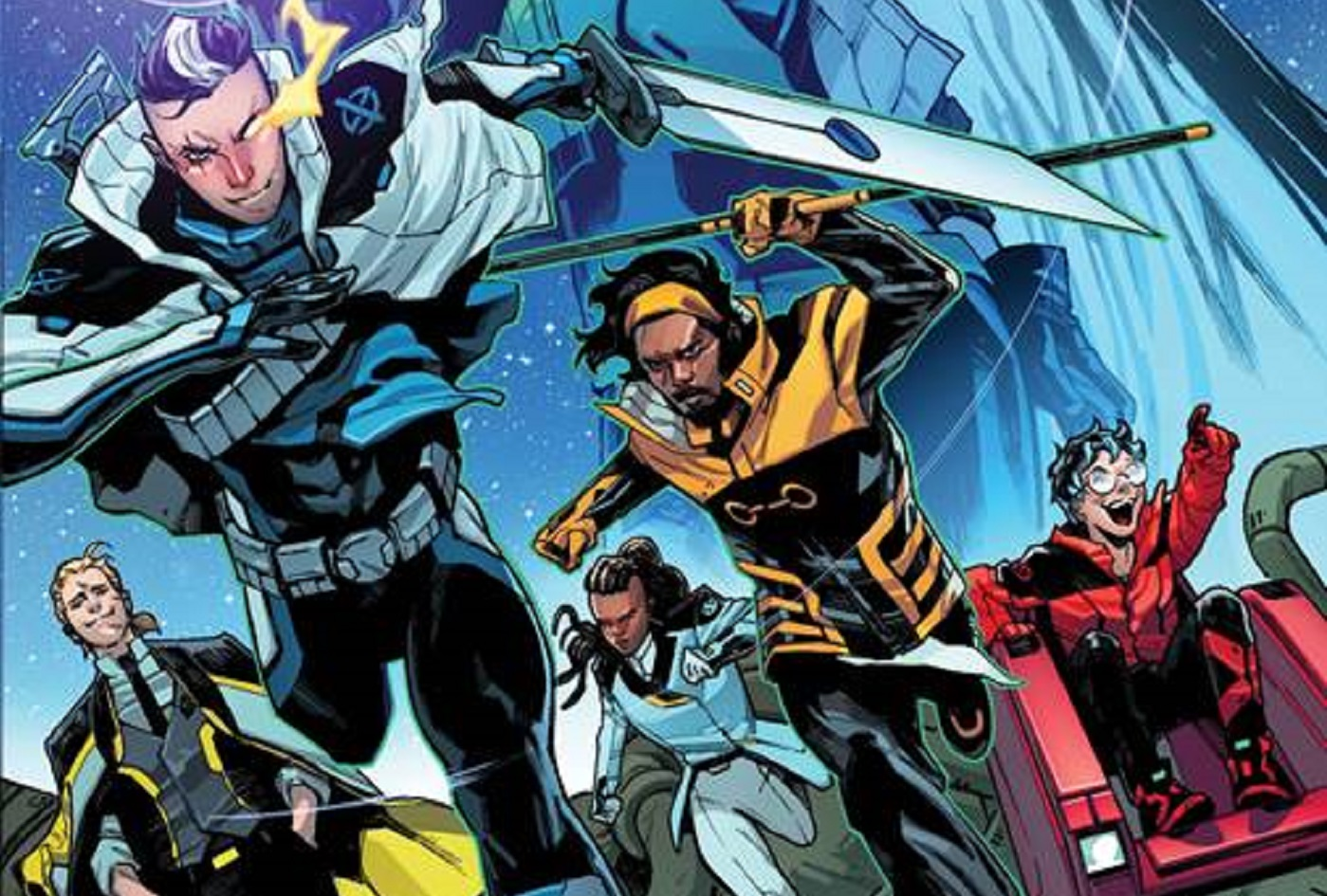 X-Men Head to Space in S.W.O.R.D.