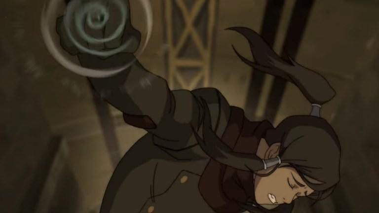 The Legend of Korra: Korra Airbending