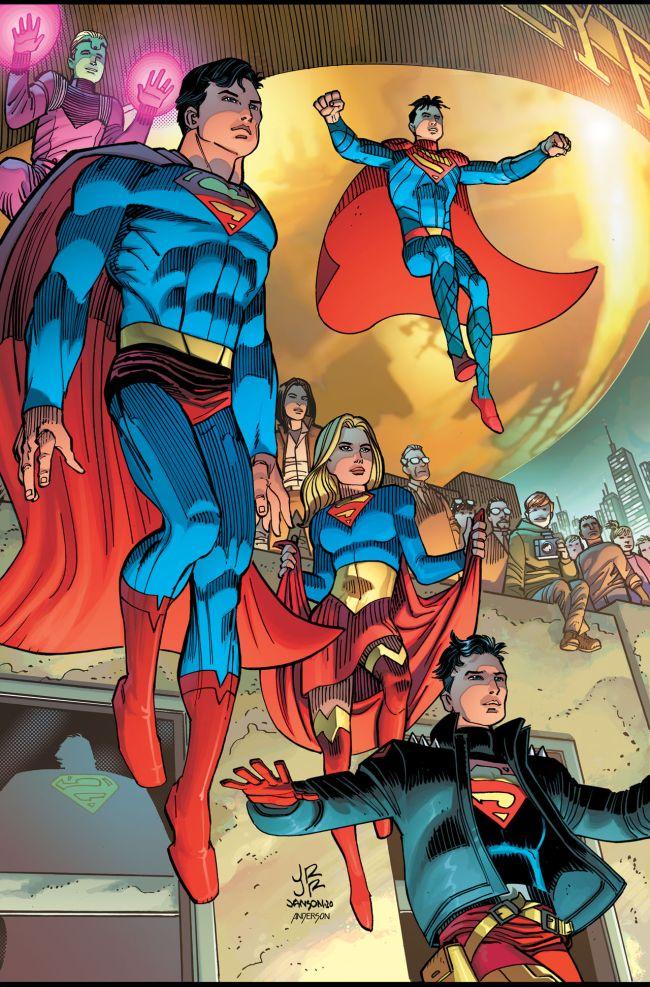 Superman Writer Departs Series
