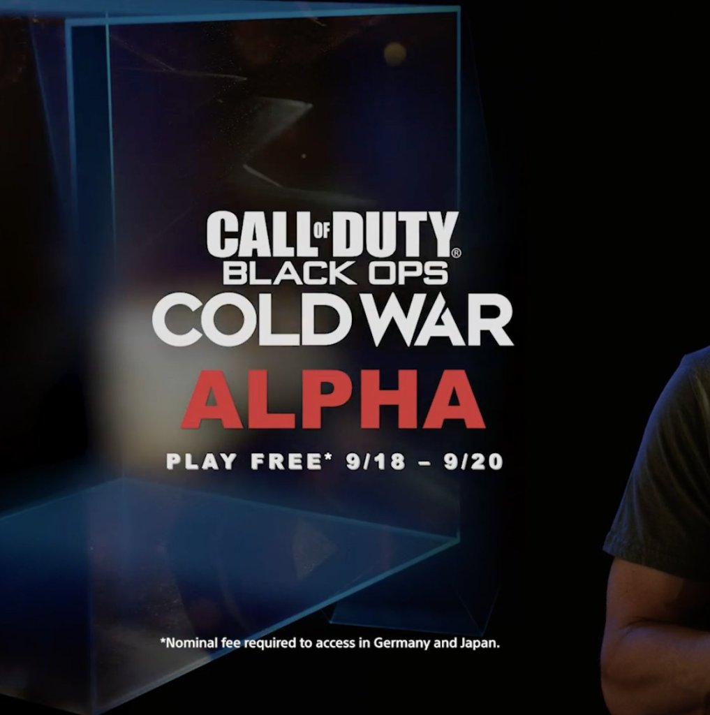 Call Of Duty Black Ops Cold War Alpha Announced For September In New Ps5 Trailer Den Of Geek