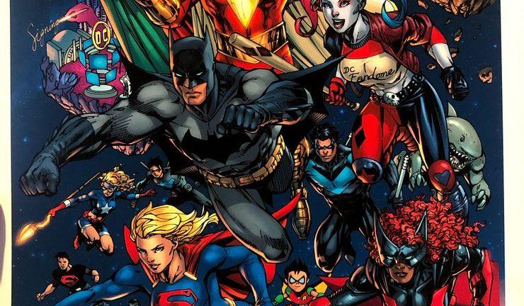 DC Comics Characters and Superheroes