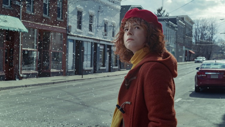Im Thinking Of Ending Things. Jessie Buckley as Young Woman
