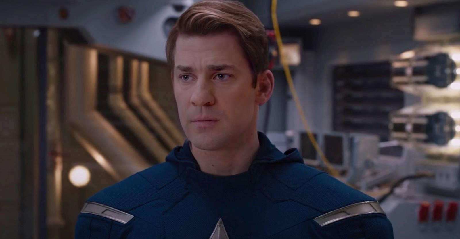 Avengers Deepfake Casts John Krasinski as Captain America   Den of ...