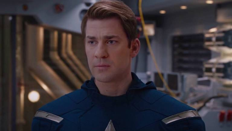 John Krasinski As Captain America In An MCU Deepfake