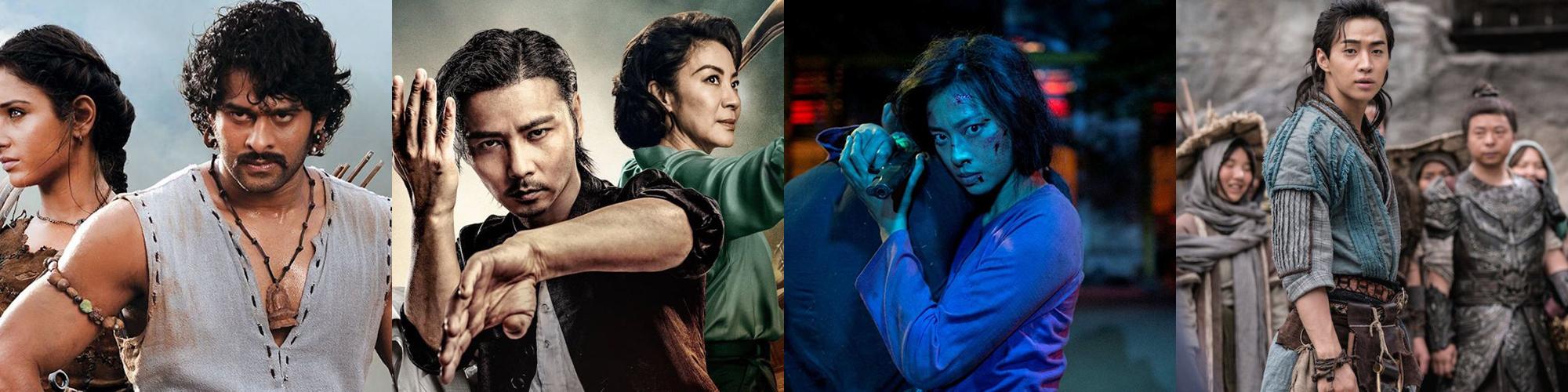 Martial Arts Movies Netflix Banner