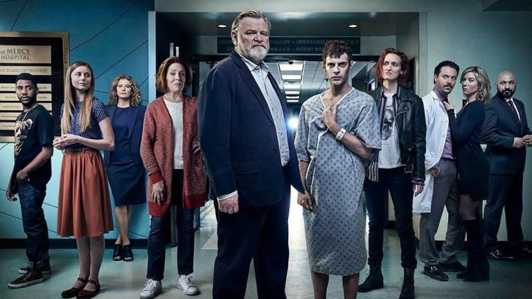 Brendan Gleeson, Harry Treadaway and the Mr. Mercedes cast